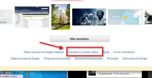 Como utilizar la antigua interfaz de Google Image Search - google-image3