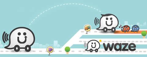 Navegador GPS social para celular, Waze - gps-movil