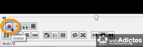 grabar dvd vlc Copiar un DVD con VLC