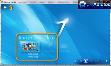 Editar imagenes en Windows Media Center - imagenes-windows-media-center