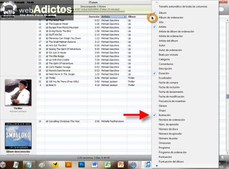 Hacer mas rápido iTunes para Windows - informacion-de-canciones