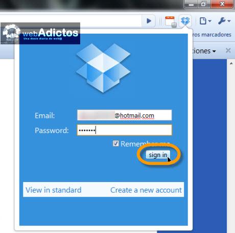Accesa a tus archivos de Dropbox desde Chrome - ingesar-a-dropbox