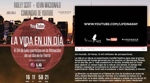 Life In a Day, documental generado por los usuarios - life-in-a-day-youtube