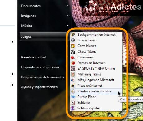 Mostrar el menú Inicio en vista expandida en Windows 7 - menu-inicio-expandido