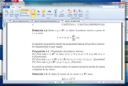 Nitro, un completo lector de PDF - nitropdf