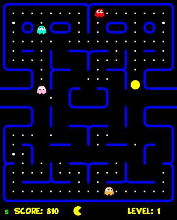 Jugar Pacman en HTML5 - pacman-html5