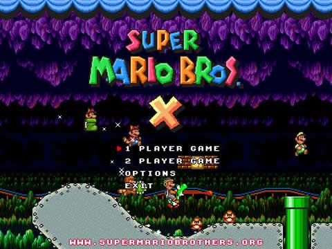 Super Mario Bros X - super-mario