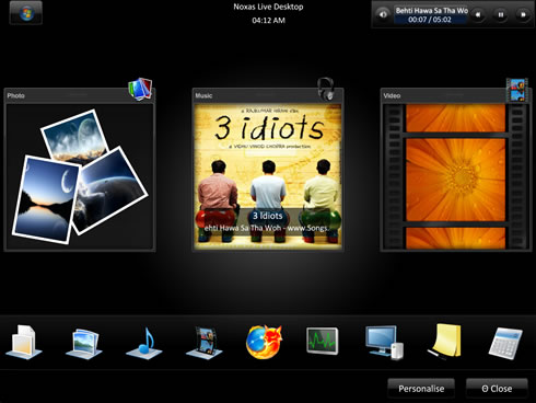 temas para windows noxas live Temas windows, Noxas Live Desktop