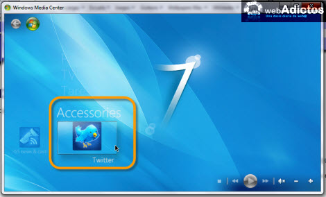 Revisa tu Twitter desde Windows Media Center - twitter-windows-media-center