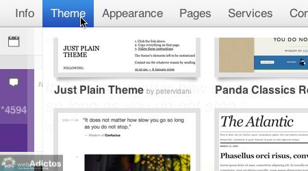 Cambiar tema blog tumblr 2 Cambiar el tema de tu blog tumblr