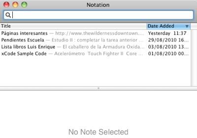 Descarga Notational Velocity 5 Aplicaciones gratis de Mac para el regreso a clases