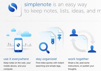 5 Aplicaciones gratis de Mac para el regreso a clases - Descarga-Simplenote-iPad-iPhone