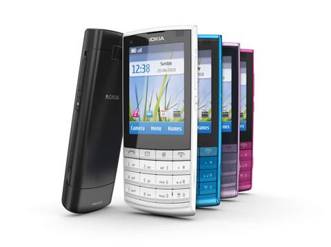 Nokia X3 touch type Nokia X3 Touch & type