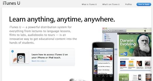 iTunes U, la división educativa de Apple - Secot-educativo-de-Apple