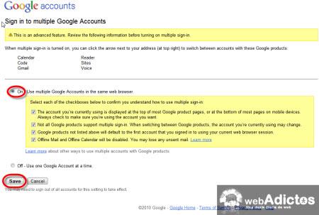 activar multiples cuentas gmail Accesar a multiples cuentas de Gmail