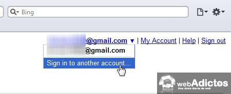 agregar otra cuenta gmail Accesar a multiples cuentas de Gmail