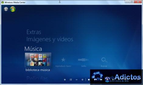 biblioteca musica windows media center Copiar un CD desde Windows Media Center