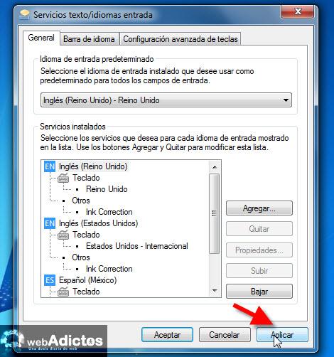 Cambiar el idioma del teclado en Windows - cambiar-idioma-teclado