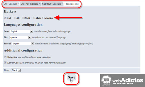 Autotraducir texto en Google Chrome - configuraciones-autotranslate