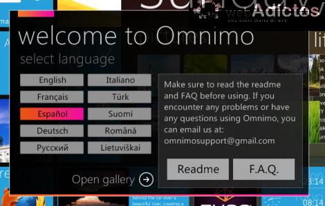 Hacer que tu PC se vea como un Windows Phone 7 - configurar-omnimo