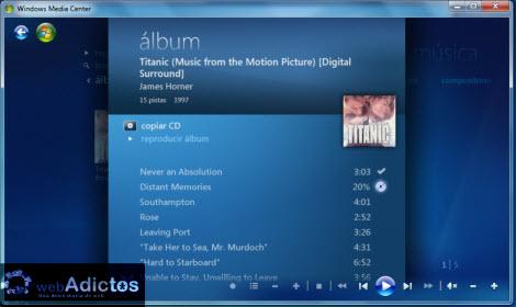 Copiar un CD desde Windows Media Center - copiar-cd