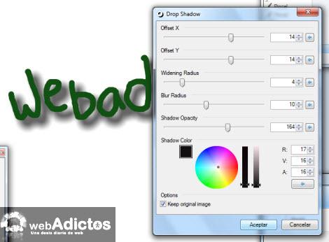 Colocar una sombra en Paint.NET - efecto-sombra-painnet