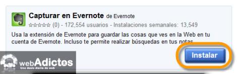 Recuerda todo lo que ves en internet con Evernote - evernote-en-google-chrome