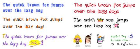 Fuentes divertidas en tus mensajes con Fontself - fuentes-divertidas-fontself