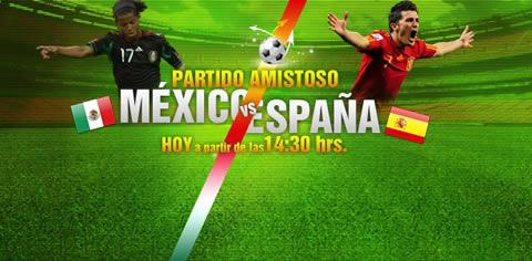 Mexico vs España en vivo - mexico-espana-en-directo