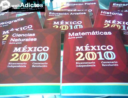 SEP lanza nuevos libros de texto gratuito por Bicentenario - nuevos-libros-sep