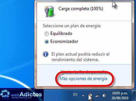 Cambiar el comportamiento de la tapa de una Laptop en Windows - opciones-energia-windows