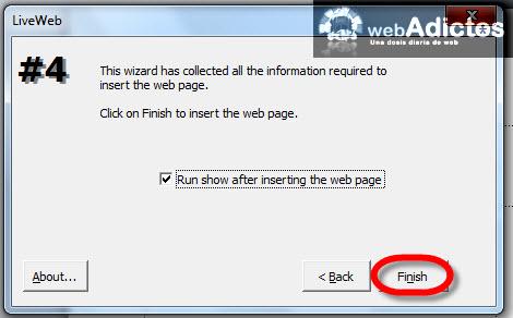 Agregar páginas de internet en Power Point - pagina-lista-para-insertar