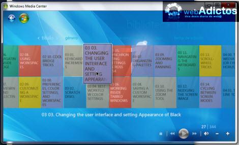 Agregar carpetas de películas a la librería de Windows Media Center - peliculas-agregar-windows-media-player
