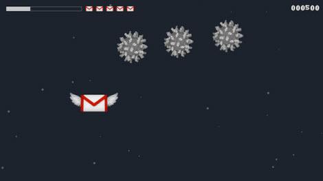sagadf Galactic Inbox, Gmail nunca fue tan divertido