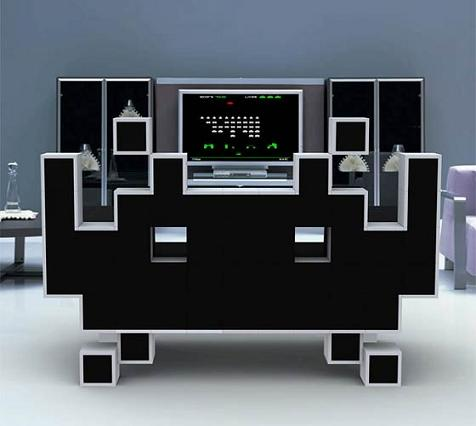 Sofá de Space Invaders - sillon-space-invaders