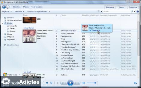 Configurar Vista Previa de Canciones en WMP12 - vista-previa-wmp