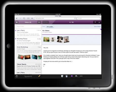 yahoo correo ipad Correo yahoo para iPad
