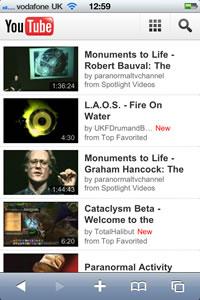 Youtube para celulares en HTML5 - youtube-html5