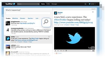 Bienvenido al nuevo Twitter.com Nuevo Twitter.com, cambió para bien