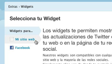 Hacer widget twitter personalizado 4 Crea un widget de Twitter personalizado para tu sitio