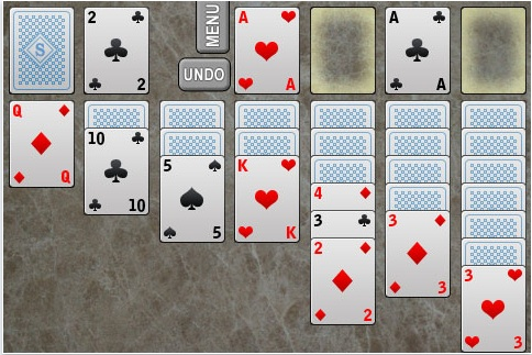 Juego para iPod/iPhone, Soltaire - Soltaire-ipod-iphone-juego