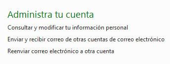 administrar cuenta hotmail Hotmail mejora su seguridad