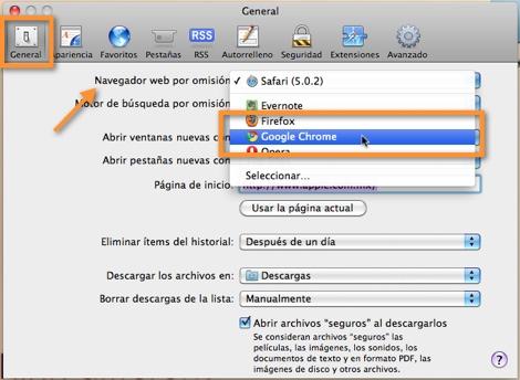 Como cambiar el navegador predeterminado en Mac - cambiar-navegador-predeterminado