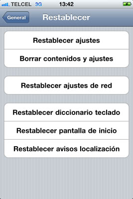 facetime restablecer ajustes Activar FaceTime en iPhone