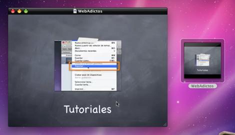 keynote en quicktime Crear un video a partir de una presentación en Keynote