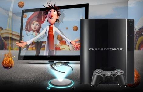 main on2 Sony añade soporte 3D Blu ray en Firmware 3.50 para PS3