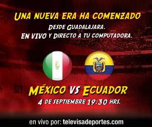 Mexico vs Ecuador en vivo, Bicentenario - mexico-ecuador-en-vivo-bicentenario