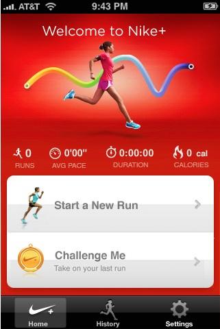 Nike+GPS, excelente aplicación para corredores para iPhone - nike+gps