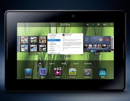 BlackBerry PlayBook, la tablet de RIM - playbooknavigator