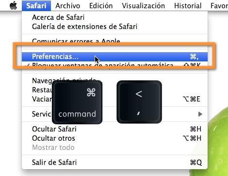 preferencias safari mac Como cambiar el navegador predeterminado en Mac